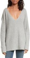 Frame Women's Oversize V-Neck Sweater