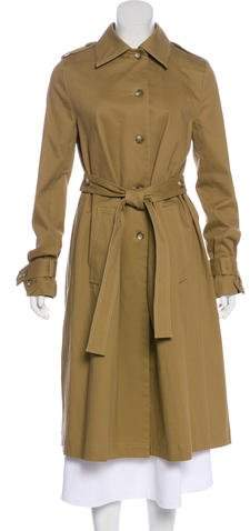 Robert Rodriguez Belted Long Coat
