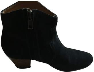 Etoile Isabel Marant \N Green Suede Ankle boots