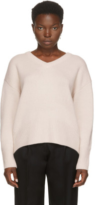 Arch4 Beige Cashmere Battersea V-Neck Sweater