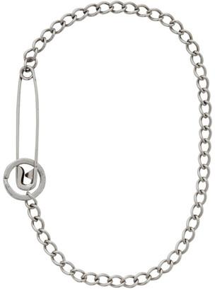 Martine Ali Silver Pin Necklace