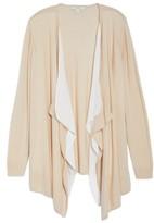 Sejour Plus Size Women's Double Layer Cardigan