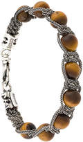Emanuele Bicocchi bead and chain bracelet