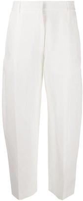 McQ elasticated waist trousers