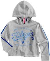 Tommy Hilfiger Logo Graphic-Print Pullover Hoodie, Big Girls