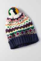 American Eagle Outfitters AE Signature Pattern Beanie