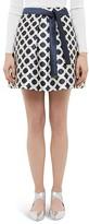 Ted Baker Blushing Rose Geo Mini Skirt