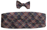 Brooks Brothers Signature Tartan Cummerbund Set