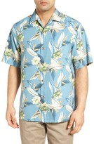 Tommy Bahama Men's Tropic Of Tritorn Short Sleeve Silk Blend Camp Shirt