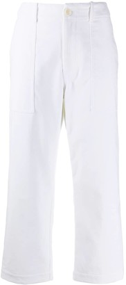 Jejia Cropped Leg Trousers