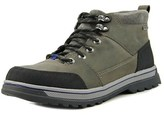 Clarks Ripway Top Gtx Men Round Toe Leather Gray Hiking Boot.