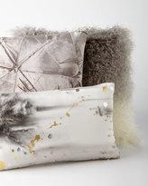 Aviva Stanoff Ombre Mongolian Fur Pillow