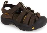 Keen 'Newport Premium' Water Friendly Sport Sandal (Toddler, Little Kid & Big Kid)
