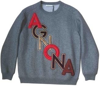 Agnona Grey Cashmere Knitwear for Women