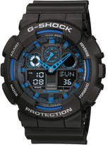 G-Shock Duo Black Face With Blue Accents
