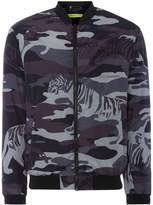Versace Jeans Camo Print Bomber Jacket