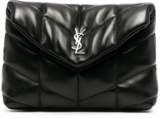 Saint Laurent small Loulou Puffer clutch