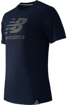 New Balance Men's MT53511 Essentials Plus Short Sleeve Logo Tee