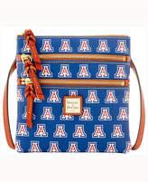 Dooney & Bourke Arizona Wildcats Triple-Zip Crossbody Bag
