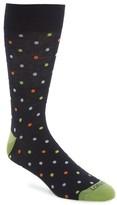 Lorenzo Uomo Men's Dot Socks