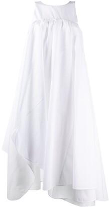 Nina Ricci Sleeveless Asymmetrical Dress