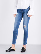 Frame Le Skinny De Jeanne cropped skinny mid-rise jeans