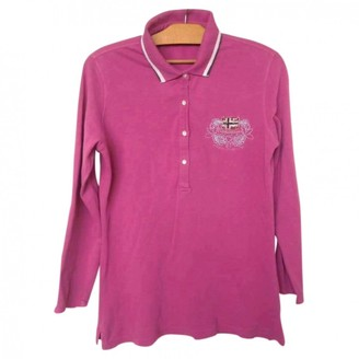 Napapijri Pink Cotton Top for Women Vintage