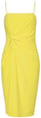 Adrianna Papell Wrap Detail Jersey Sheath Dress