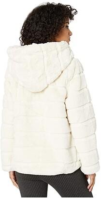 Apparis Goldie 3 Hooded Faux Fur Coat