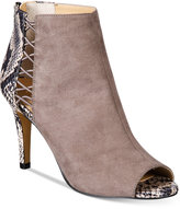 Thalia Sodi Kaarmen Side Cut-out Peep-Toe Shooties, Only at Macy's