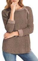 Michael Stars Women's Distressed Sweatshirt