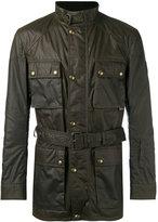 Belstaff wax belted jacket