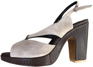 Gaspard Yurkievich Beige Leather Sandals