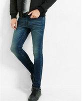 Express super skinny leg skinny fit performance stretch jean