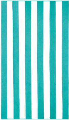 Pool' Apollo Towels Marine Stripes Beach Towel - Teal