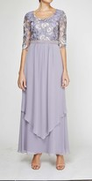 Thumbnail for your product : Le Bos Women's Embroidered Tiered Dress with Beaded Waist