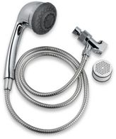 Culligan® Hand Held Filtering Shower Head in Chrome
