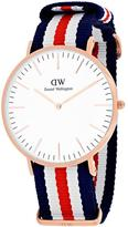 Daniel Wellington Classic Canterbury Collection 0102DW Men's Analog Watch