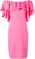 P.A.R.O.S.H. ruffled off-shoulders dress - women - Polyester - L