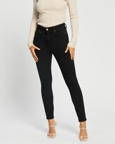 Thumbnail for your product : Neuw Women's Black High-Waisted - Marilyn Skinny Jeans - Size 24 at The Iconic