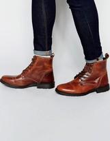 Jack & Jones Crust Leather Warm Boots