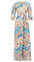 Dodo Bar Or Kate Floral-print Wrap Maxi Dress - Womens - Cream Print
