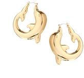 Asos Dolphin Hoop Earrings