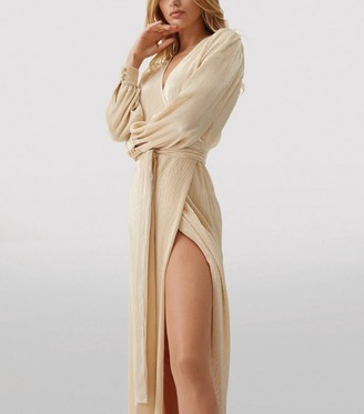 Melissa Odabash Bree Wrap Maxi Dress