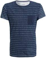 Tom Tailor Denim Print Tshirt Night Sky Blue