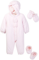 Emile et Rose Juggle Hooded Snowsuit, Mittens, & Bootie (Baby Girls)