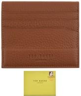 Ted Baker Steemer Leather Cardholder Brown