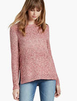 Lucky Brand Ombre Lace Up Pullover