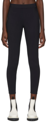 Moncler Black Logo Leggings