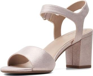 Clarks Women's Deva Alice Heeled Sandal